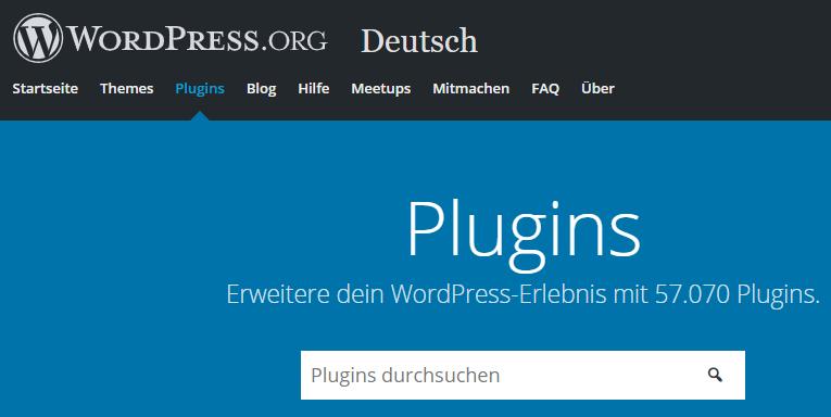 wordpress.org repository
