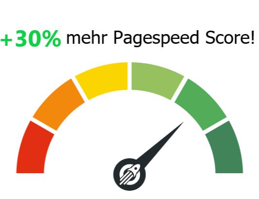mehr Pagespeed Score!