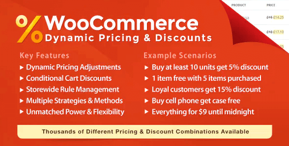 WooCommerce Plugin Dynamic Pricing & Discounts 2020