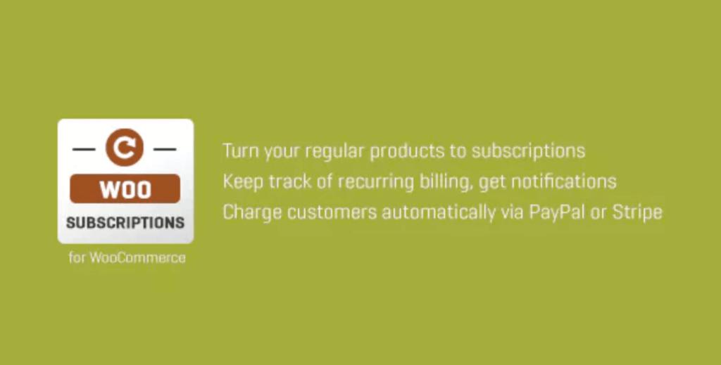 WooCommerce Subscriptio Plugin - Abos verkaufen