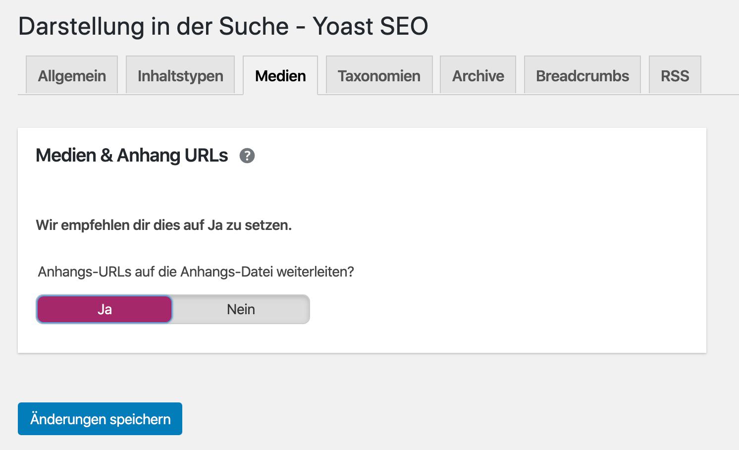Seiten ohne Mehrwert vermeiden - Anhangs-URL auf die Anhangs-Datei weiterleiten
