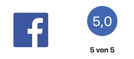 Facebook Bewertungen anzeigen