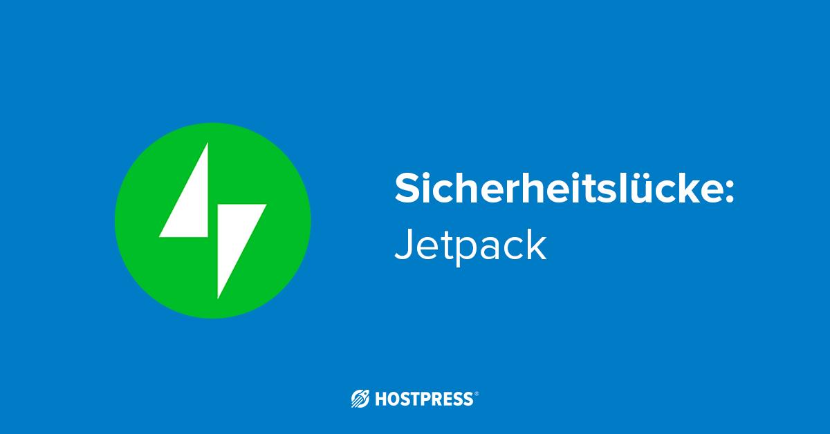 hostpress-sicherheitsluecke-jetpack
