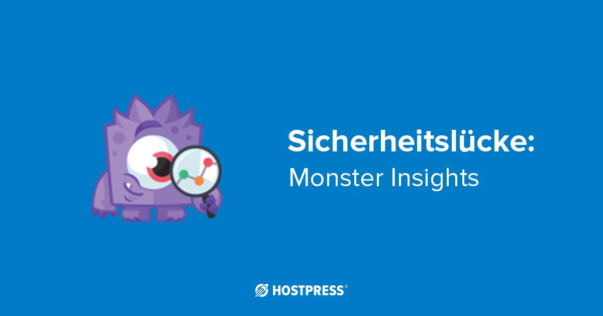 hostpress-sicherheitsluecke-monsterinsights