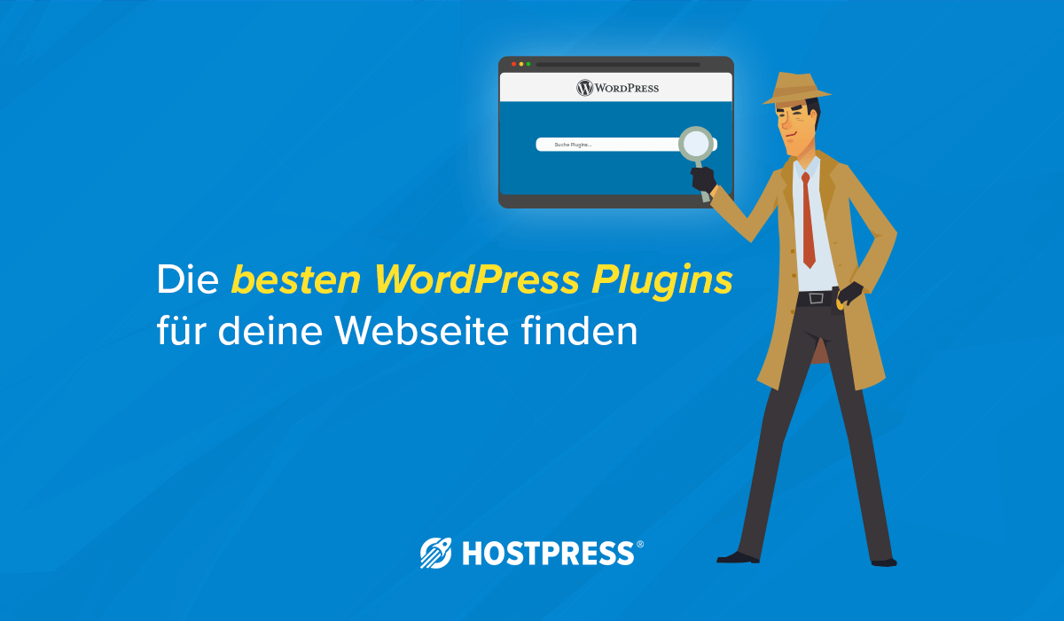 wordpress plugin finden