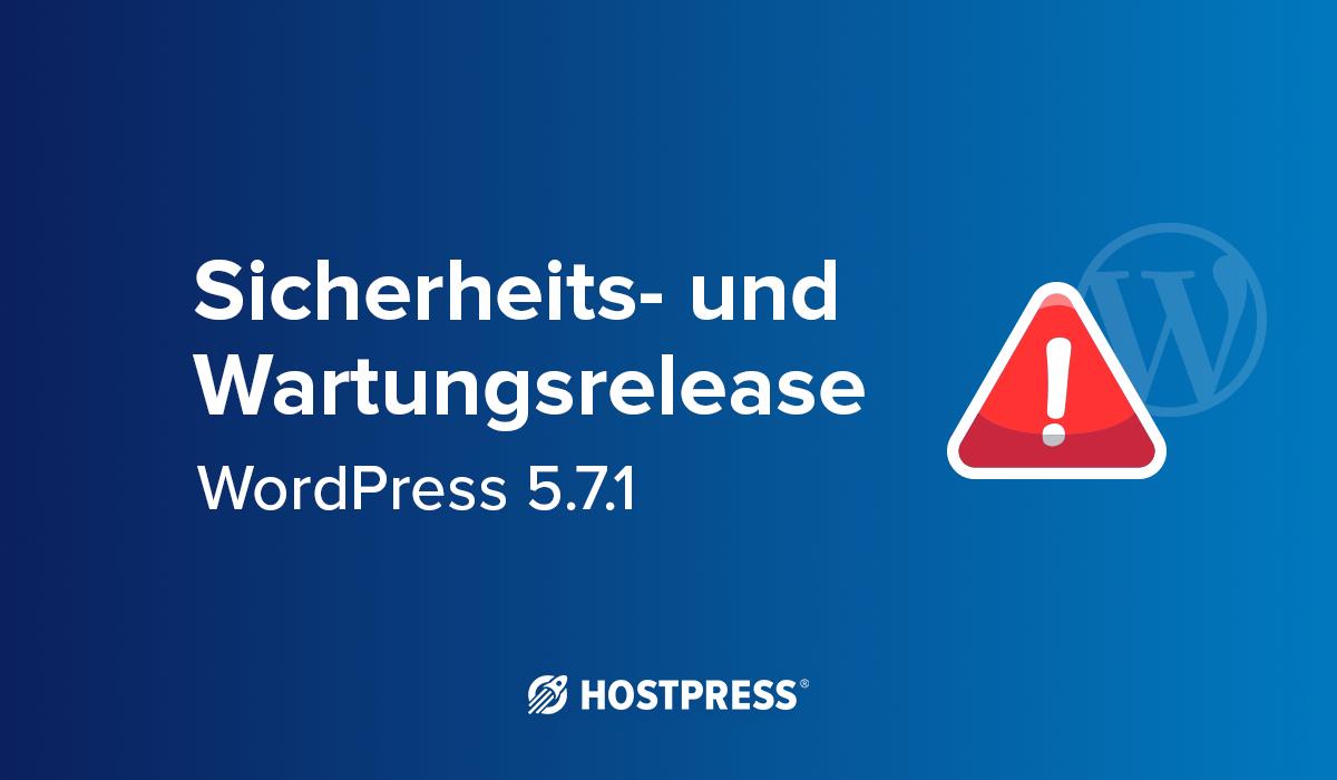 sicherheitslücke wordpress core 5.7