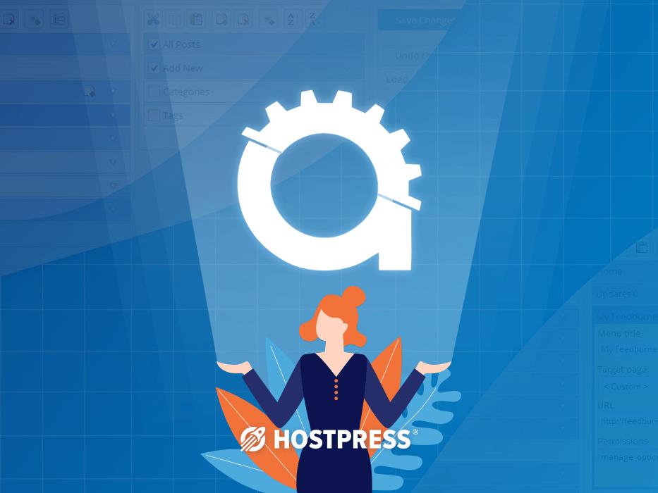 admin menu editor - wordpress plugin