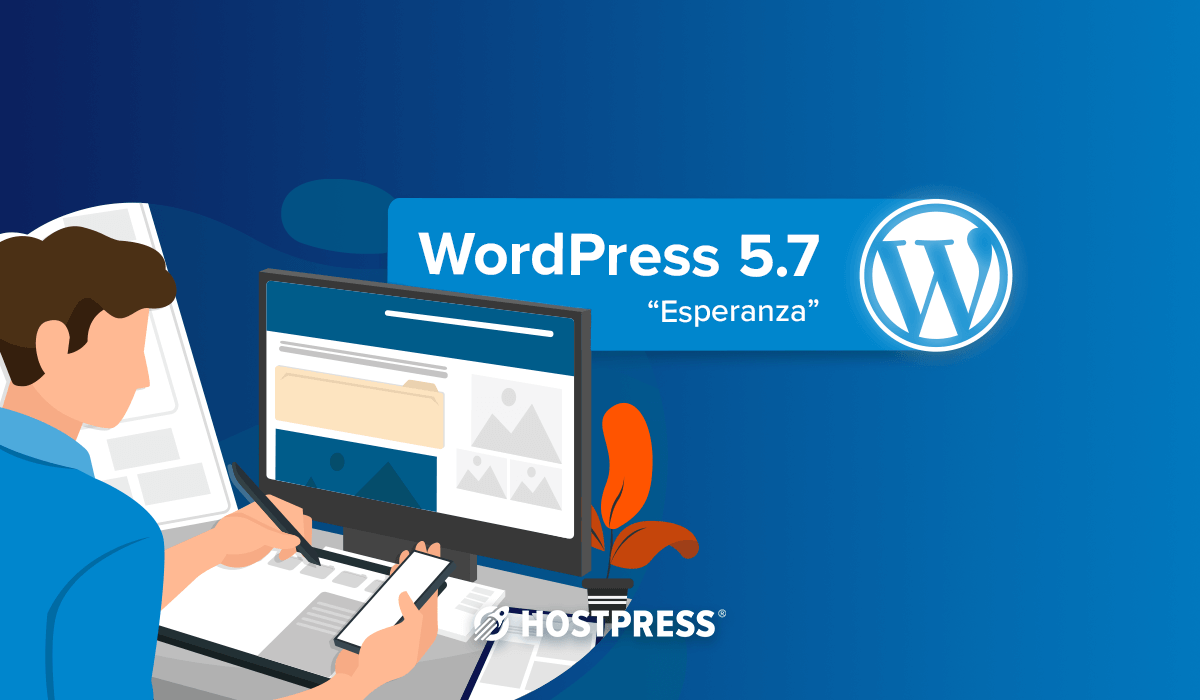 wordpress 5.7 core update esperanza