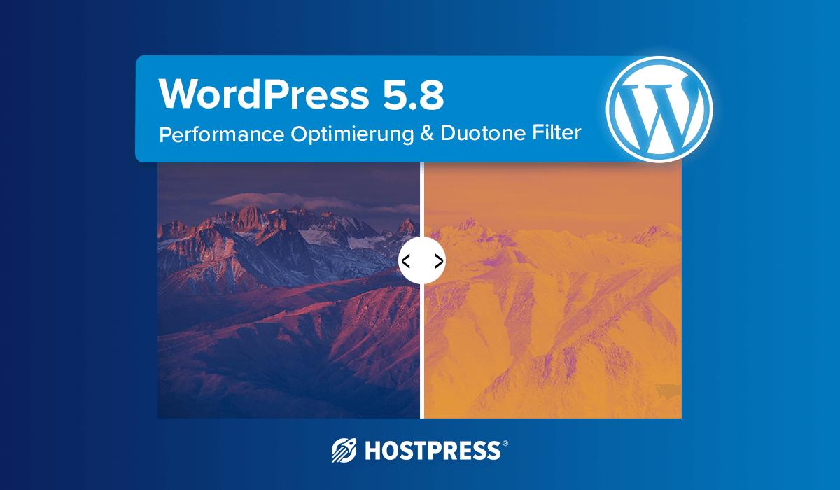 Wordpress 5.8 Release - DuoTone Filter und weitere Neuerungen