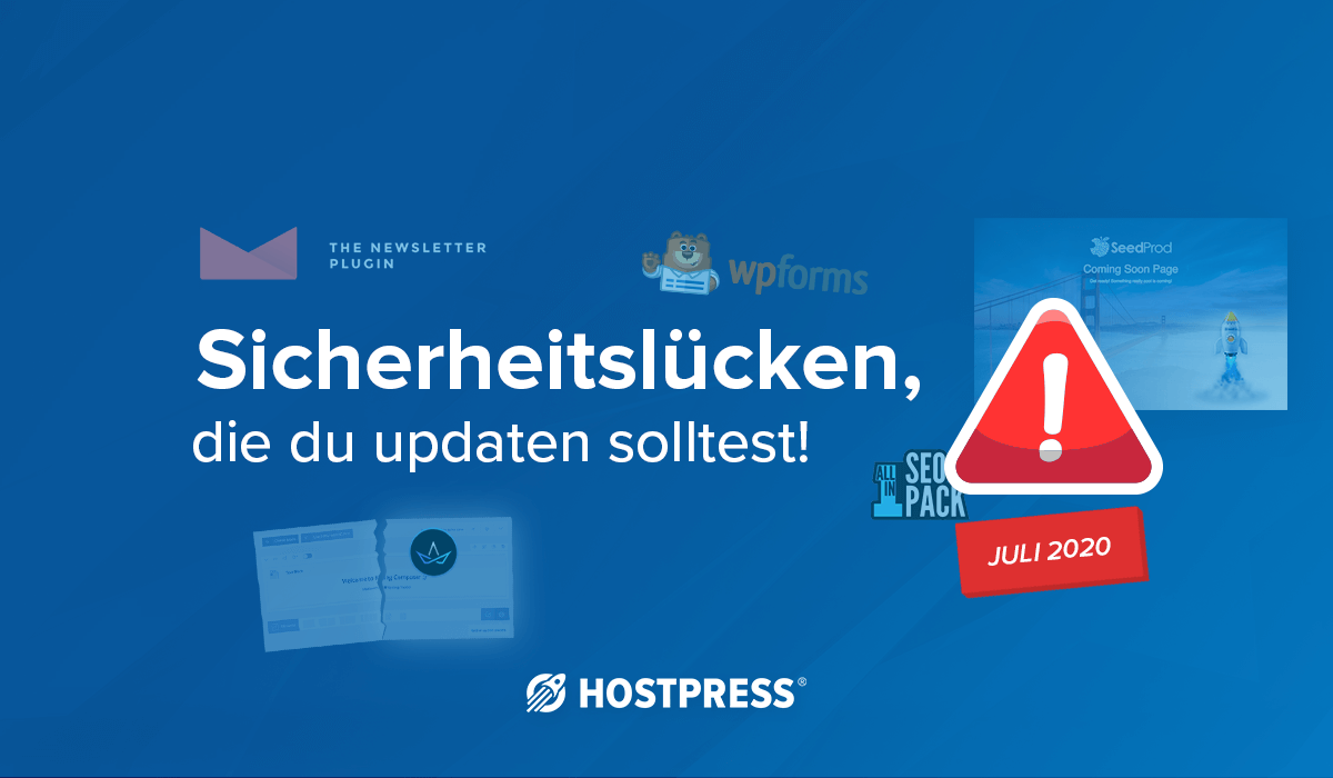 wordpress hosting sicherheit