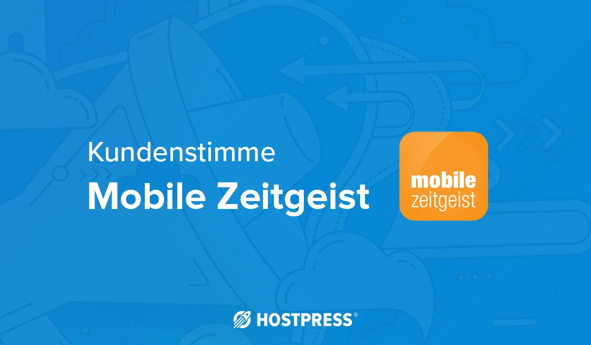 Kundenstimme mobile zeitgeist
