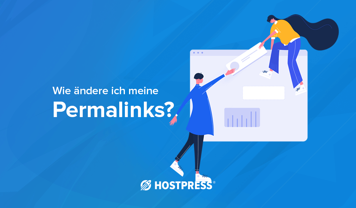 Permalinks ändern HostPress Blog