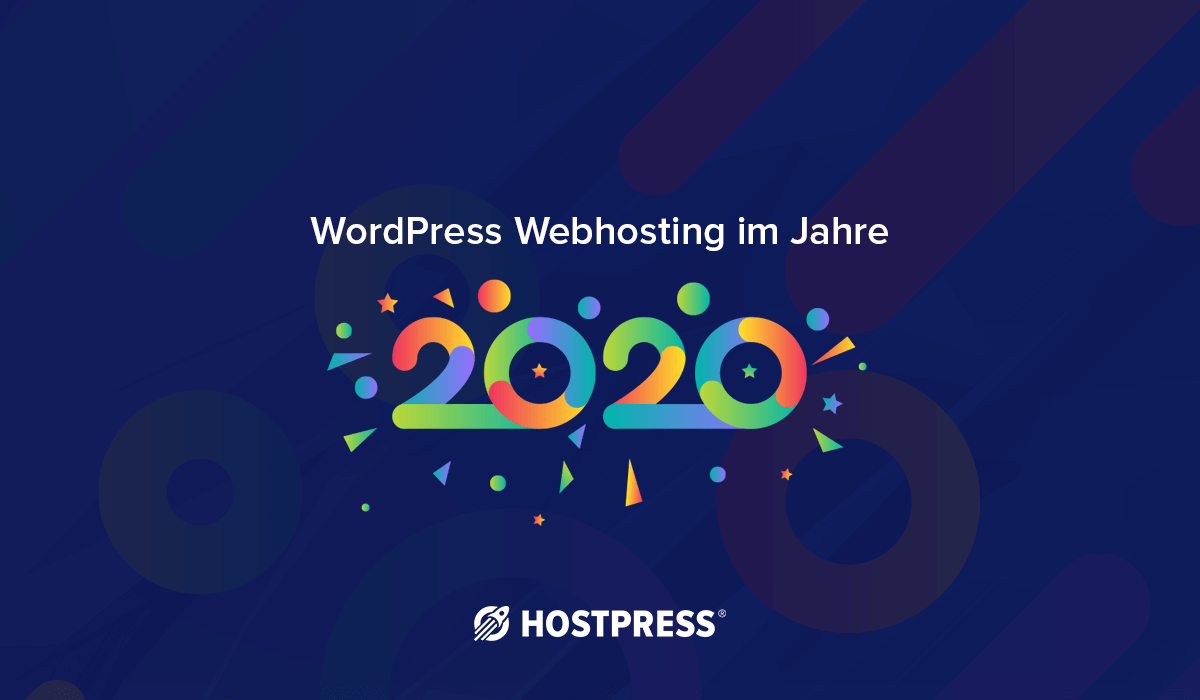 wordpress webhosting 2020