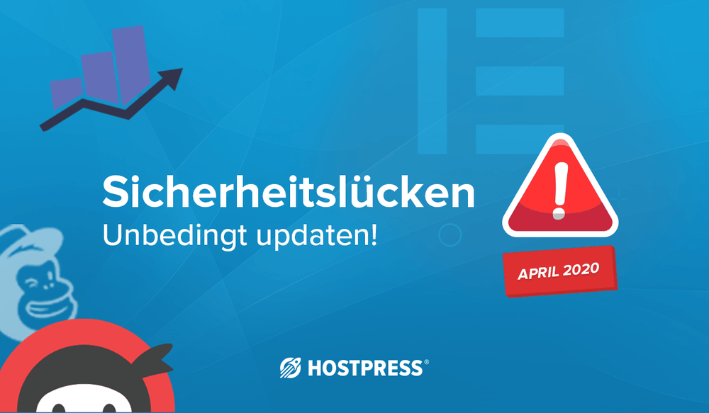 Alle Sicherheitslücken WordPress April 2020