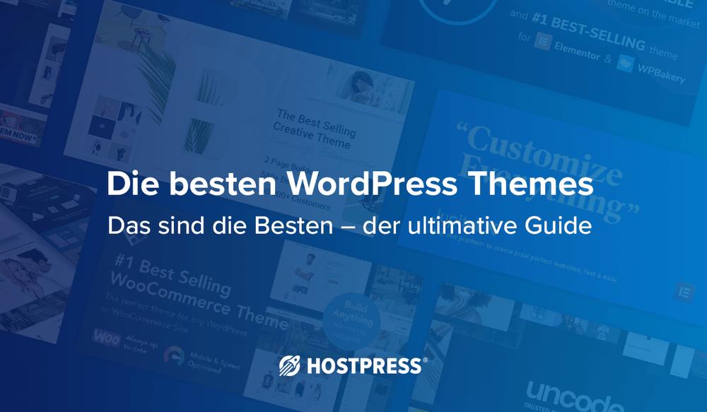 Die besten WordPress Themes