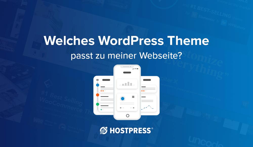 WordPress Theme: Welches passt zu meiner Webseite?