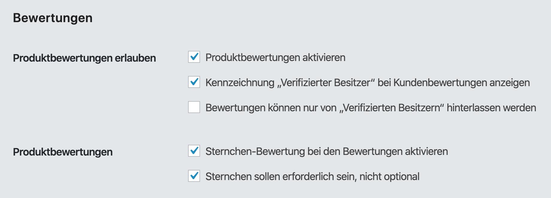 Produkt Bewertungen bei WooCommerce aktivieren für eine bessere Klickrate