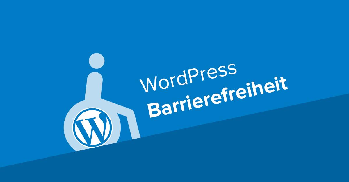 WordPress Barrierefreiheit