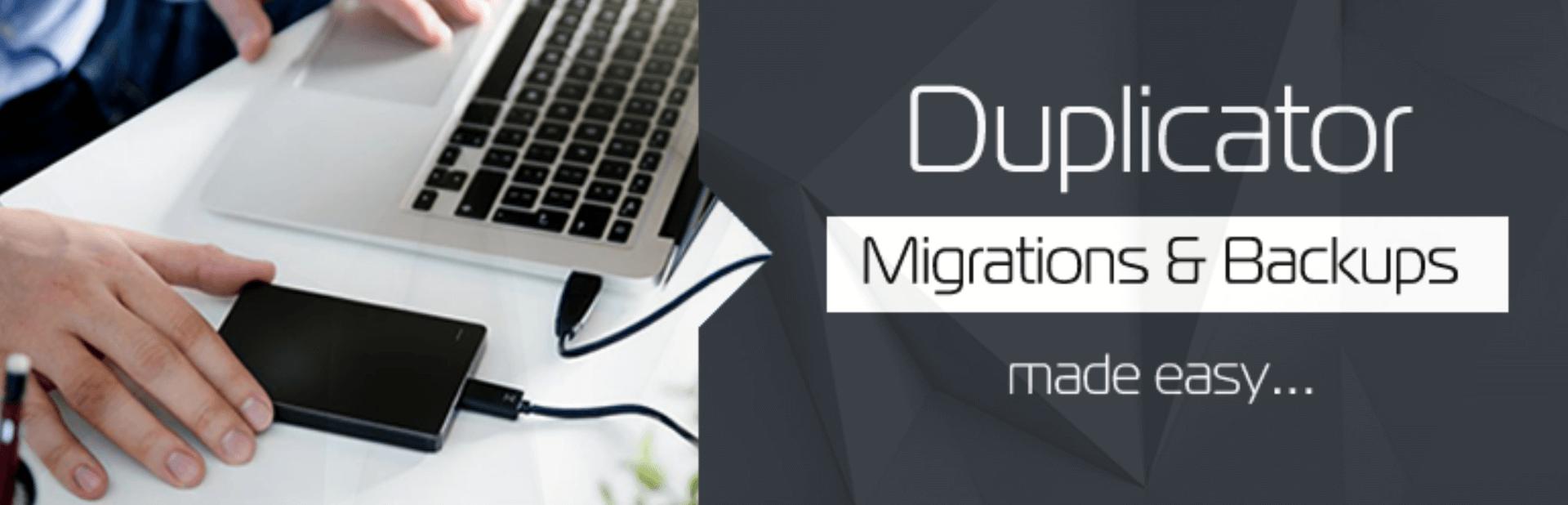 Migration einer WordPress Seite mit dem Plugin Duplicator