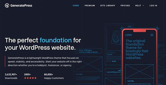 WordPress Theme: Generate Press
