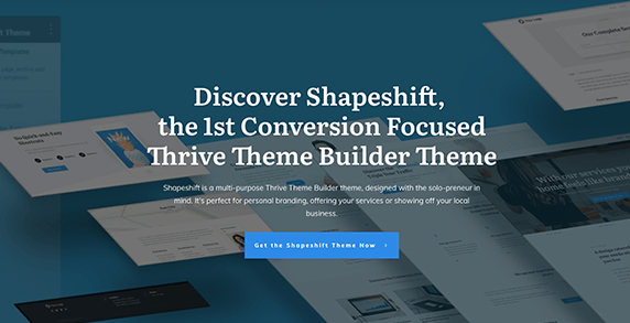 WordPress Theme: Shapeshift