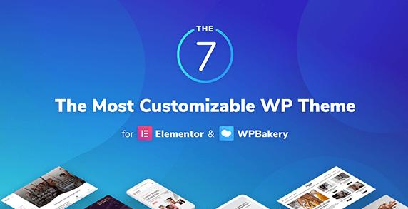 WordPress Theme: The 7