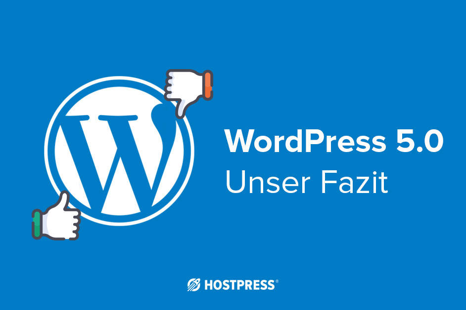 WordPress Update 5.0