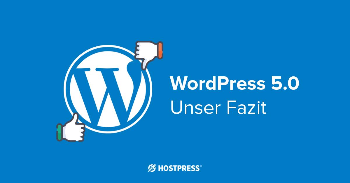WordPress Update 5.0